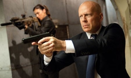 Bruce Willis scoffs at your pitiable lasers...