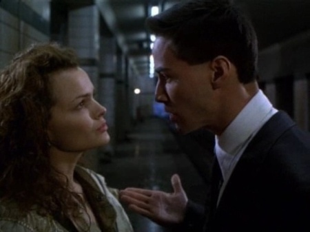 Dina Meyer: good girlfriend material. Bodyguard, not so much.