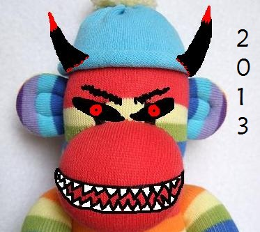 scary sock 2013
