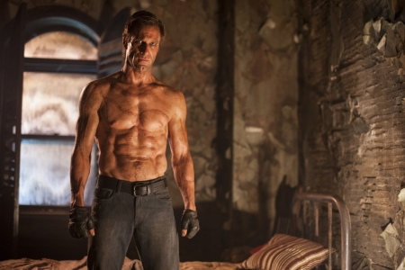Mary Shelley wrote extensively about the monster's chiseled abs.