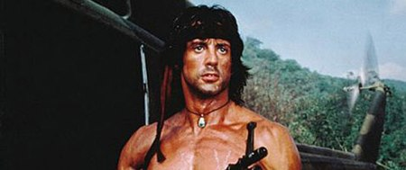 Rambo: Protecting us from a warlike Vietnam since 1985.