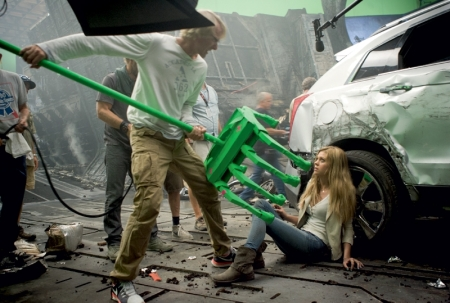 So this is what a second date with Michael Bay is like. I more or less expected it.