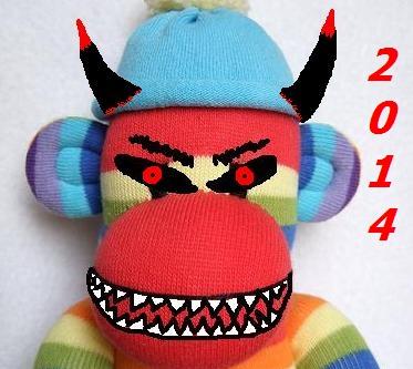 scary sock 2014