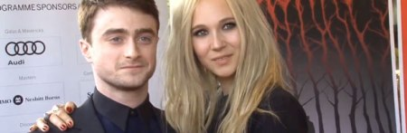 How jaded do you have to be to look this bored with Juno Temple hanging off you?